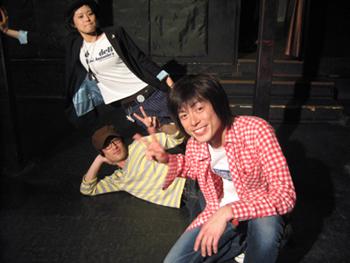Addiction(Vo.Gt.大谷京介さん、Ba.森下勇介さん、Dr.鈴木亜沙美さん)